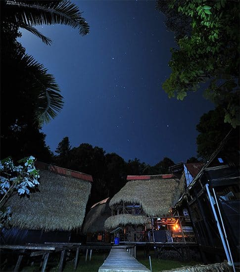 nights in the cuyabeno reserve, eco lodge
