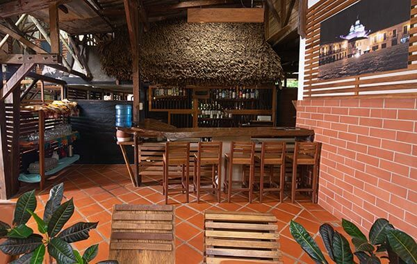 bar in the cuyabeno reserve